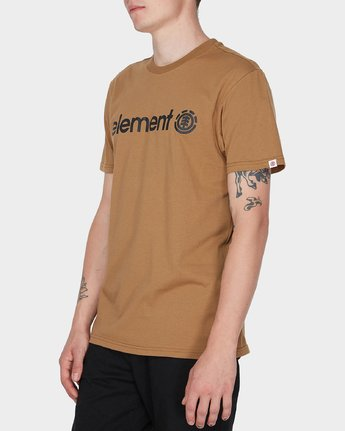 2 HORIZON SHORT SLEEVE TEE Yellow 183001 Element