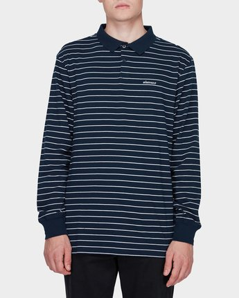 MIDNIGHT LS POLO  183152