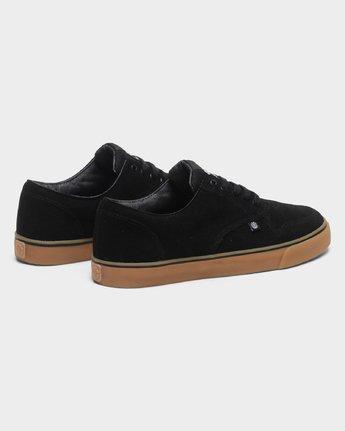 2 Topaz C3 Suede Sneakers Black 183902 Element