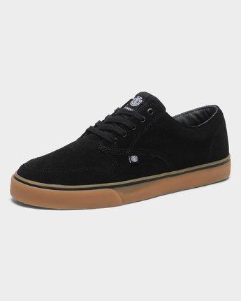 4 Topaz C3 Suede Sneakers Black 183902 Element