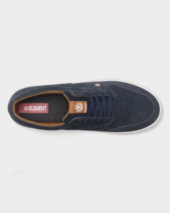4 Topaz C3 Suede Sneakers Blue 183902 Element