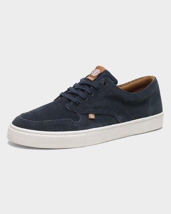 3 Topaz C3 Suede Sneakers Blue 183902 Element