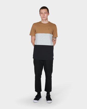 3 Fos Short Sleeve Tee Yellow 184005 Element