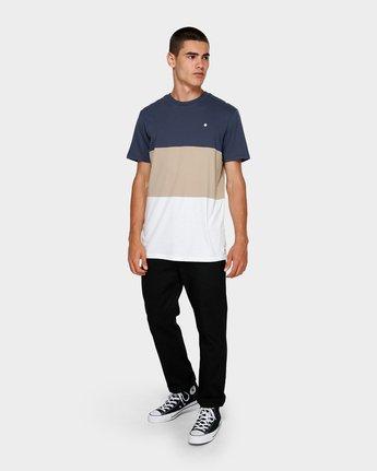 3 Fos Short Sleeve Tee Blue 184005 Element