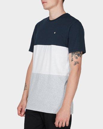 2 Fos Short Sleeve Tee Blue 184005 Element