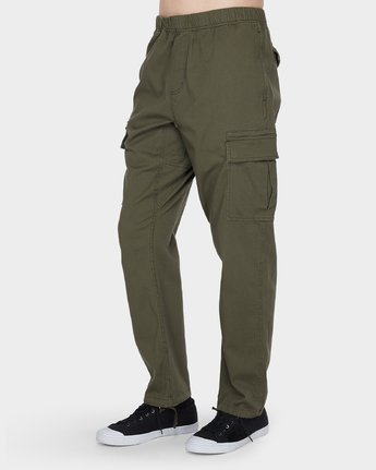 2 Roots Cargo Pant Green 186265 Element