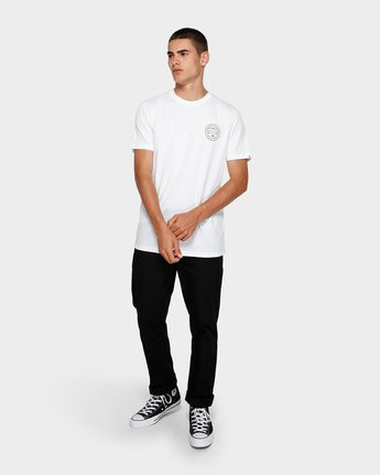 3 Know Your Roots Short Sleeve Tee White 193001 Element