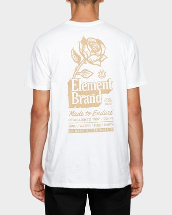 1 Fastplant Short Sleeve Tee White 193003 Element