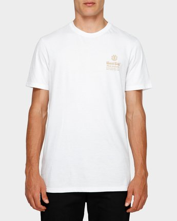 0 Fastplant Short Sleeve Tee White 193003 Element