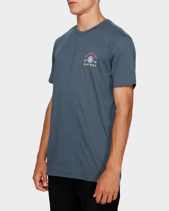 2 Force Of Nature Short Sleeve Tee Blue 193004 Element