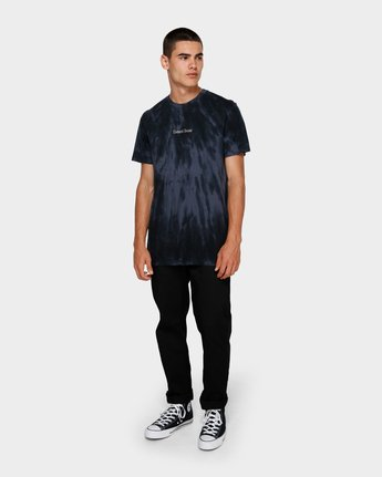 3 Darkslide Short Sleeve Tee Blue 193009 Element