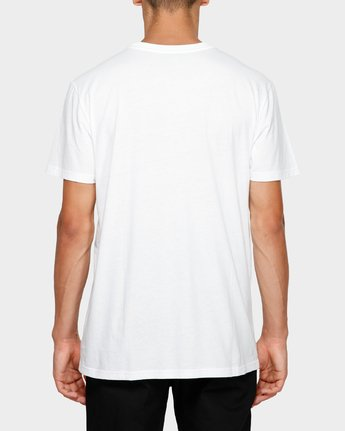 1 Simple Man Short Sleeve Tee White 193012 Element
