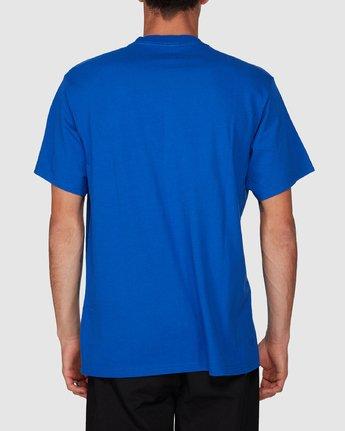 1 Prime Grind Short Sleeve Tee Blue 193023 Element