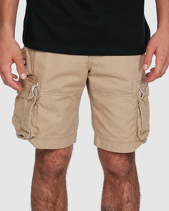 3 Source Cargo Short Green 193351 Element