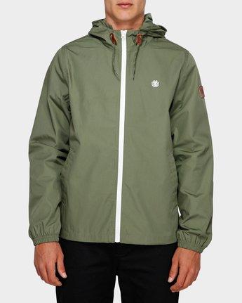 1 Alder Light Jacket Green 193451 Element