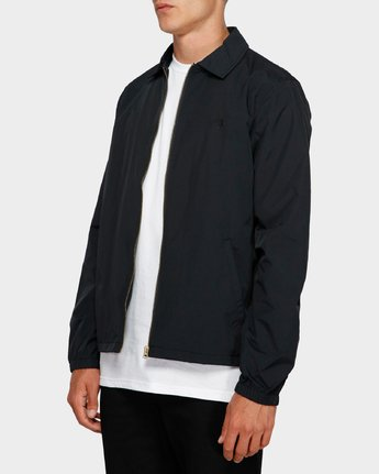 3 Too Late Staff Jacket Black 193458 Element