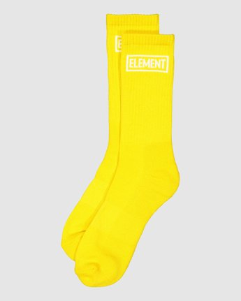 7 Prime Grind Sock Yellow 193693 Element