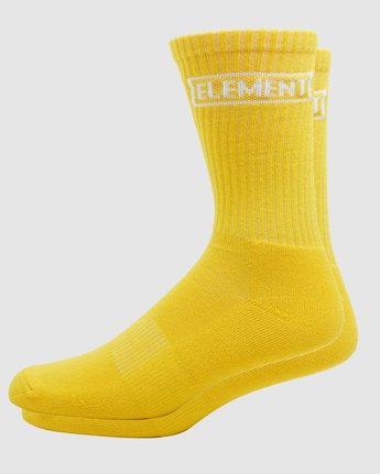 4 Prime Grind Sock Yellow 193693 Element
