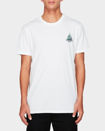 0 Open Minded Tee White 194001 Element