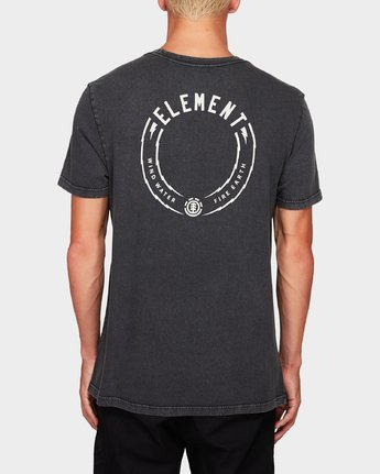 1 STRIKE SS TEE Black 194008 Element