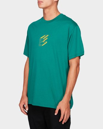 2 DIMENSION SS TEE Green 194017 Element