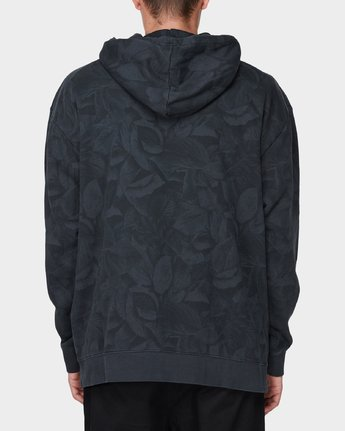 1 GRIFFIN LEAF CAMO HOODED PULLOVER Black 196321 Element