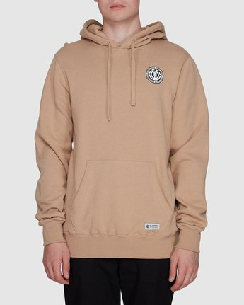 0 Seal Back Hoodie Grey 196325 Element