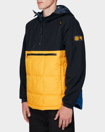 2 GRIFFIN LIGHT DOWN HOODIE Yellow 196469 Element