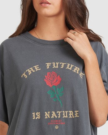 3 Future Tee Black 205007 Element