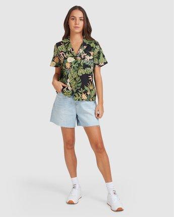 3 So Tropical Shirt Black 205214 Element