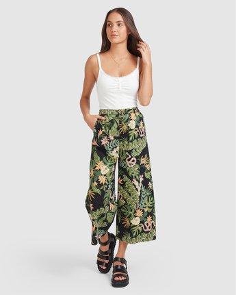 3 So Tropical Pant Black 205263 Element