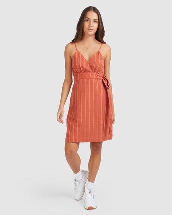 4 Sundays Dress Red 205864 Element