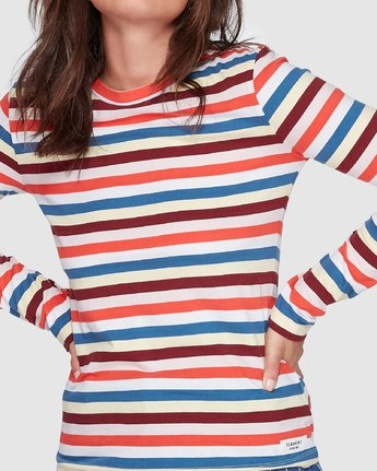 3 Candy Cane Ls Tee Red 207051 Element