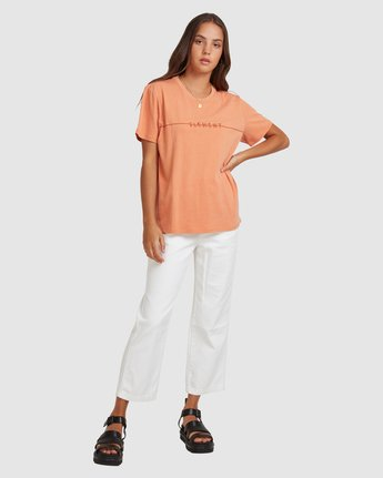 5 LANE TEE Orange 217004 Element