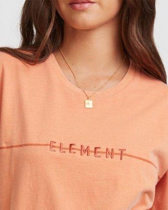4 LANE TEE Orange 217004 Element