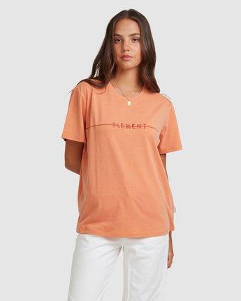 1 LANE TEE Orange 217004 Element