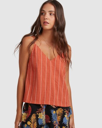 SUNDAYS STRIPE TOP  217211