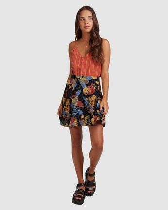 4 Amelie Tropical Skirt Black 217851 Element