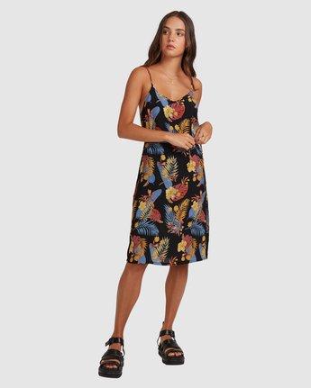 1 Amelie Tropical Dress Black 217861 Element