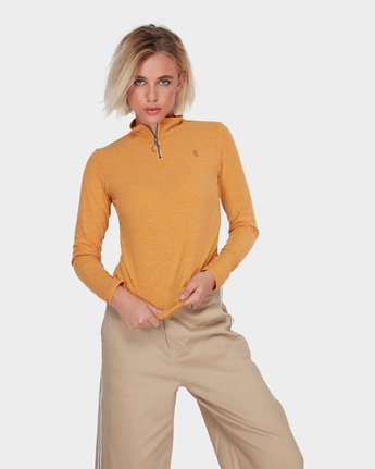 0 GRIDLOCK TOP Brown 283181 Element