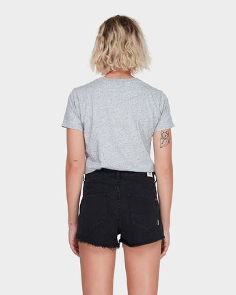 1 NIGHT FEVER DENIM SHORT Black 283363 Element