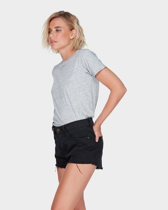 2 NIGHT FEVER DENIM SHORT Black 283363 Element