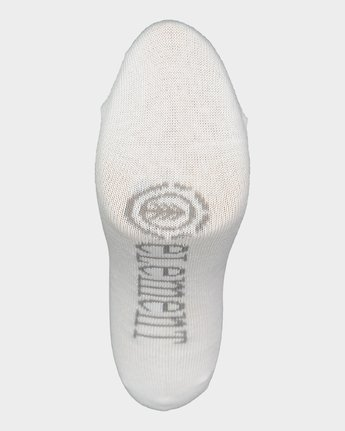 6 ELEMENT NUDIE SOCK 5 PACK White 283691 Element
