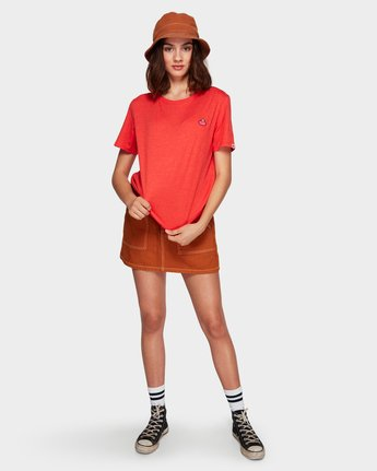 3 DARCY TEE Orange 284012 Element