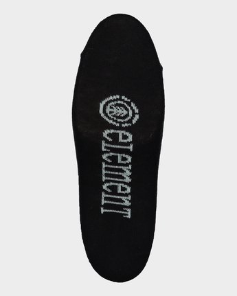 4 ELEMENT NUDIE SOCK 5 PACK Black 284653 Element