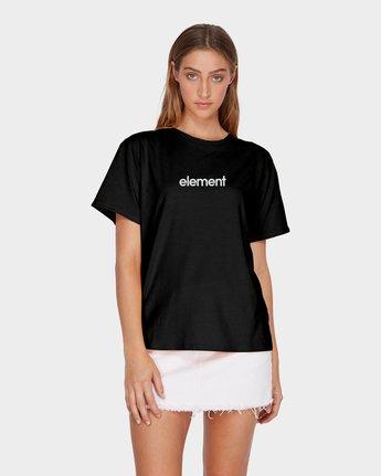 0 ELEMENT FOUNDATION TEE Black 286011 Element
