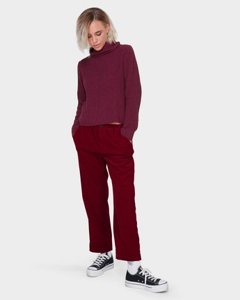 3 ROSABELLA PANT Red 288243 Element