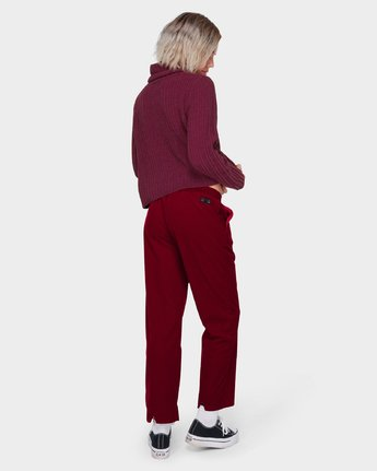 1 ROSABELLA PANT Red 288243 Element
