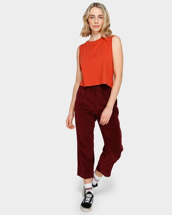0 ABIGAIL PANT Red 293241 Element
