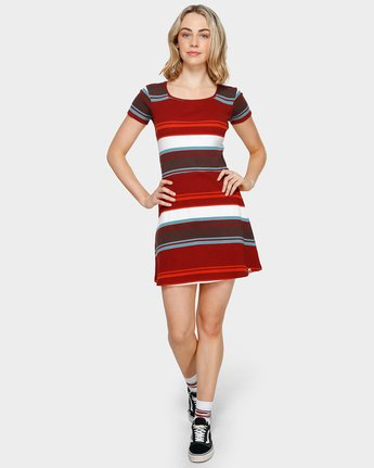 3 MAYA DRESS Red 293865 Element